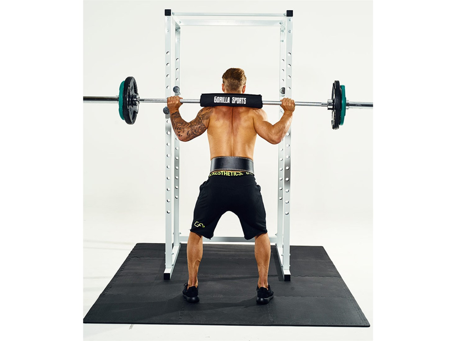 Power Cage Squat Rack Power Rack - 8